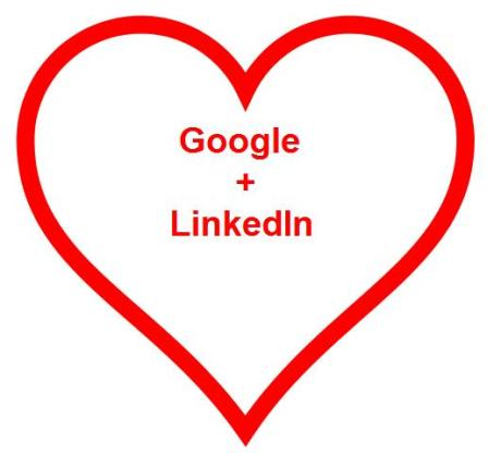 LinkedIn Loves Google