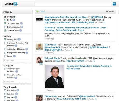 LinkedIn Signal's is better than Facebook's Wall