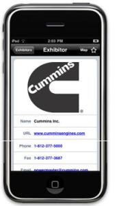 ConExpo iPhone and Android App Powered by Cummins