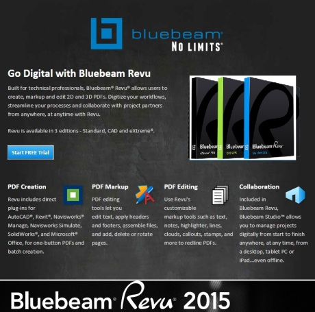 Bluebeam Revu PDF Markup, Editing, and Collaboration Software