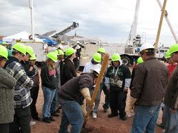Students getting involved at Arizona Construction Career Days