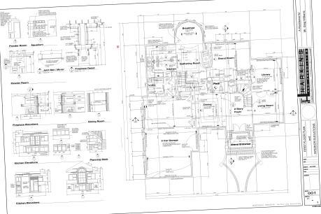 Skewed PDF plan set