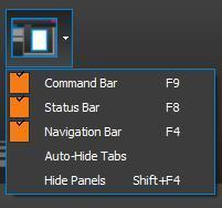 Interface  Bluebeam View Tab