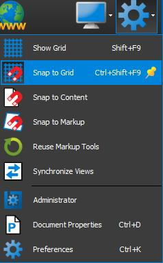 Snap to Grid on a PDF with Bluebeam Revu
