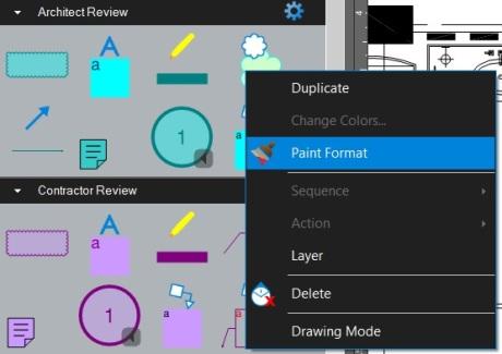 Copy Existing Tool's Color Scheme - Paint Format