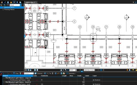 Quickly assign many take-off markups to a single layer