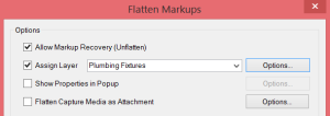 Assign All Markups to a Layer in one step